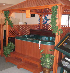 Sundance Hot Tub Spa Wood
