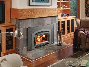 Avalon large Wood fireplace insert